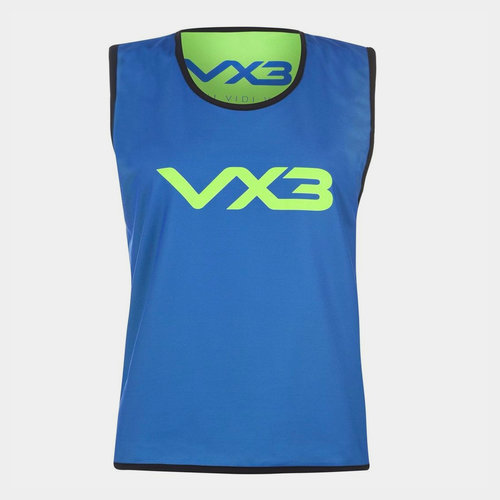 Reversible Mesh Hi Viz Training Bib Junior