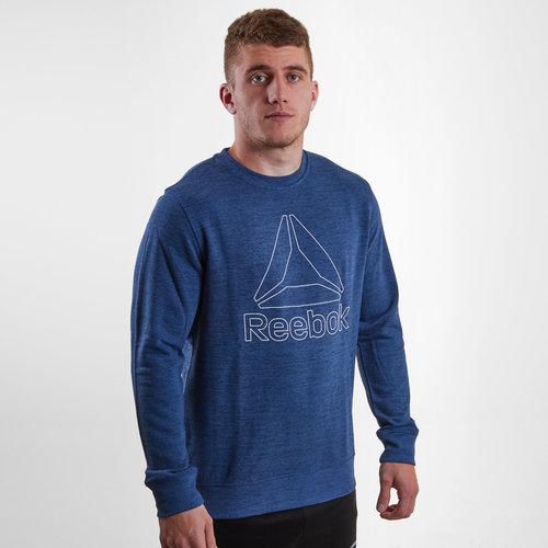 Marble Melange Crew Sweatshirt