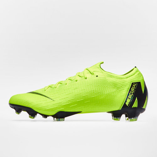 862ef897353 Nike Mercurial Vapor XII Elite FG Football Boots. Volt Black