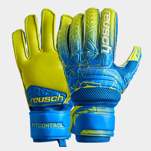 Fit Control SG Extra Finger Supports Goalkeeper Gloves
