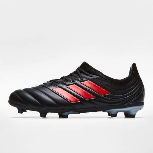 d6add1d29 adidas Copa 19.1 FG Kids Football Boots. Core Black Hi Res Red Silver  Metallic