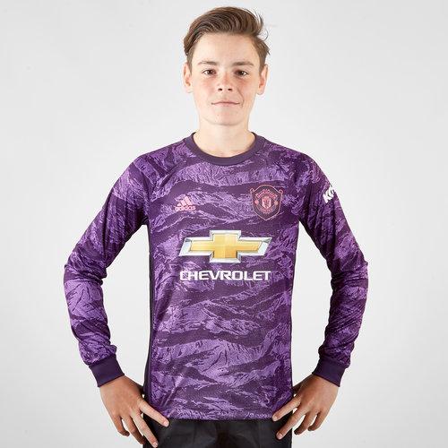 Manchester United 19/20 Home Kids L/S Goalkeeper Shirt
