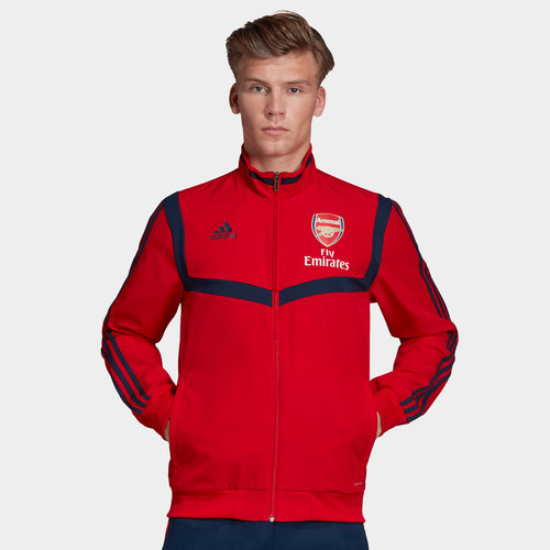 Arsenal 19/20 Full Zip Presentation Football Jacket