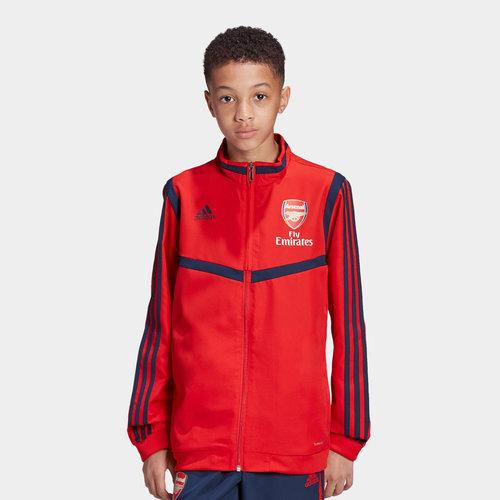 Arsenal 19/20 Kids Full Zip Presentation Football Jacket