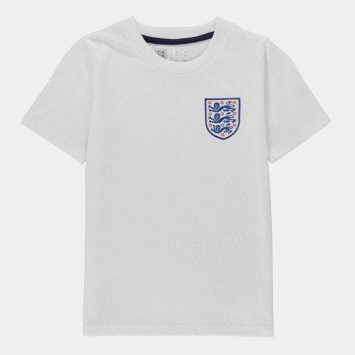 England Small Crest T-Shirt Juniors