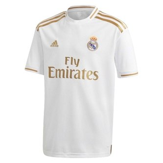 Real Madrid 19/20 Home Replica Youth Football Shirt