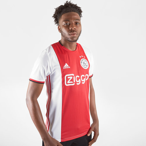 best service 33701 b6b6d adidas Ajax 19/20 Home S/S Replica Football Shirt, £60.00