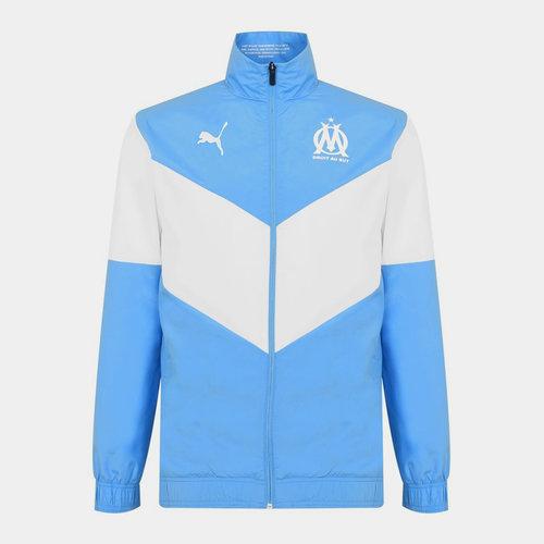 Marseille Pre Match Jacket 2021 2022 Mens