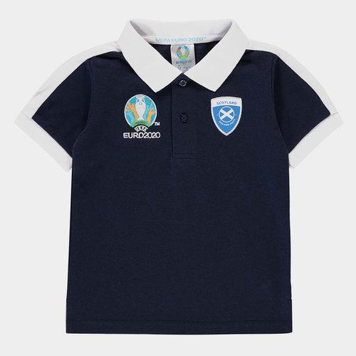 Euro 2020 Scotland Polo Shirt Infant Boys