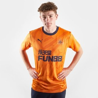 Newcastle United 19 20 Players Third Shirt Mens