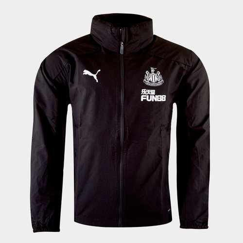 Newcastle United 19/20 Players Football Rain Jacket