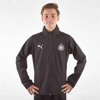 Newcastle United 19/20 Kids Football Rain Jacket