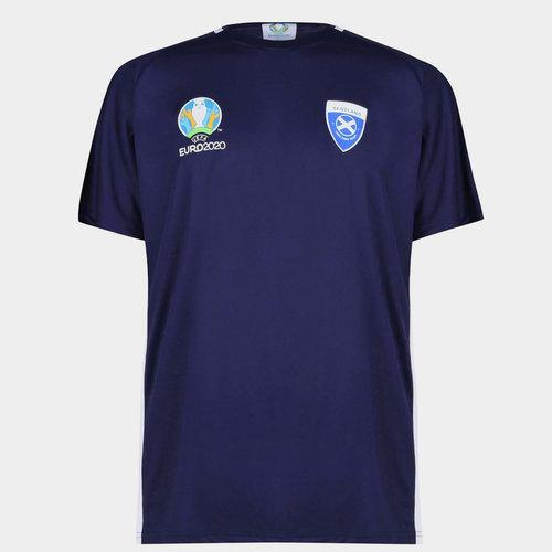 Euro 2020 Scotland T Shirt Mens