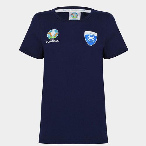 Euro 2020 Scotland T Shirt Ladies
