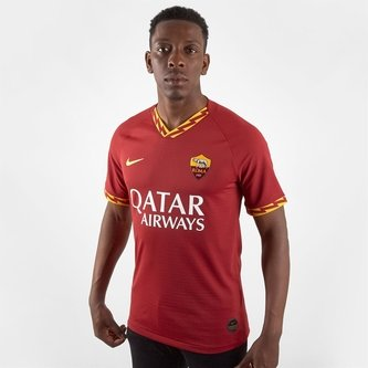 AS Roma Short Sleeve T Shirt Mens