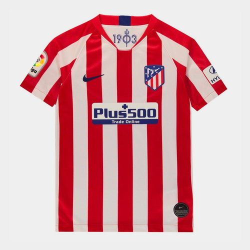 Nike Atletico Madrid Home Shirt 2019 2020 Junior 38 00