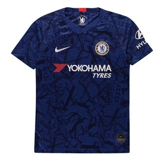 Chelsea 19/20 Kids Home S/S Replica Football Shirt
