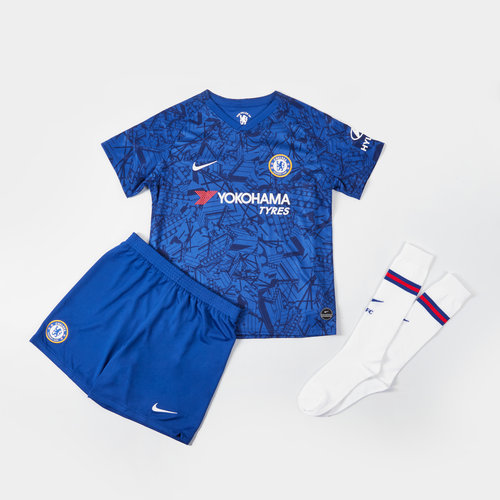 a8952bd0b Nike Chelsea 19/20 Mini Kids Home Replica Football Kit, £40.00