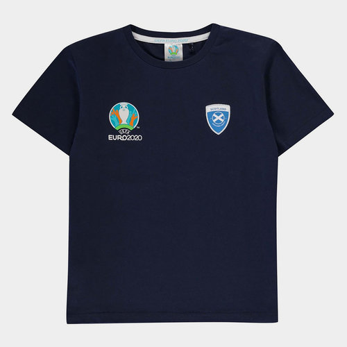 Euro 2020 Scotland Core T Shirt Junior Boys