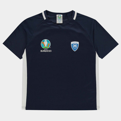 Euro 2020 Scotland Polyester T Shirt