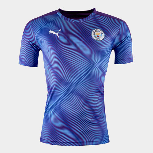 Manchester City 2019/20 Stadium S/S Football Shirt