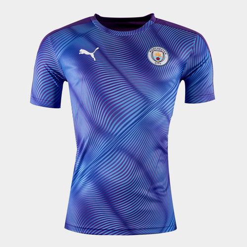 Manchester City 2019/20 Stadium S/S Football Shirt