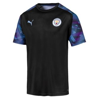 Manchester City 19/20 Players S/S Football Training Shirt
