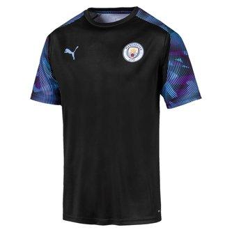 Manchester City 19/20 Players S/S Football Training Shirt