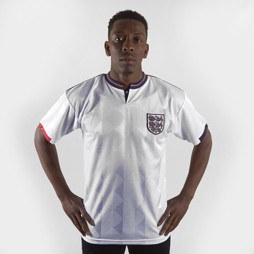 England 88/89 Home Retro Football Shirt