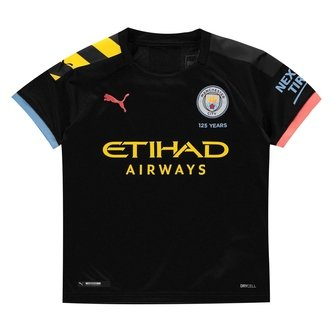 Manchester City Short Sleeved T Shirt