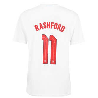 Euro 2020 England Polyester T-Shirt With Printed Name Mens