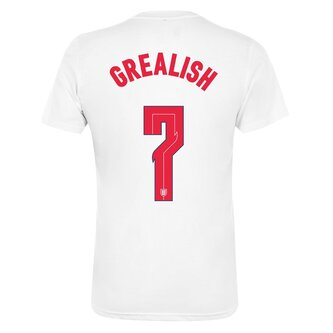 England Crest T Shirt With Printing