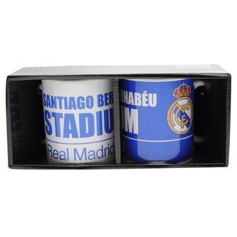 Real Madrid Twin Mug Set