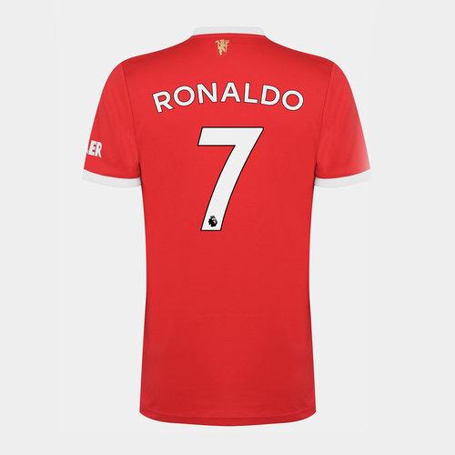 Manchester United Home Ronaldo Shirt Kids