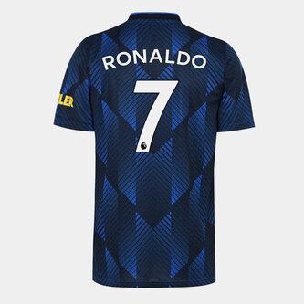 Manchester United Third Ronaldo Shirt Kids