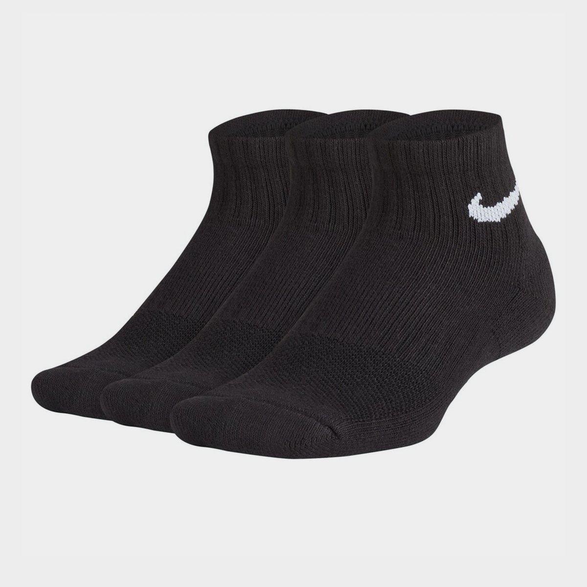 Performance Cushion Quarter Socks Junior