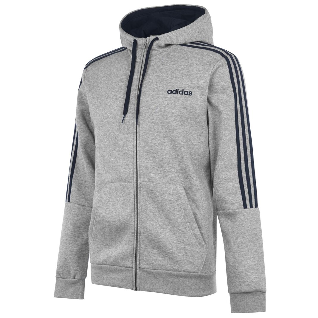 Mens Full Zip Track Top Hoodie