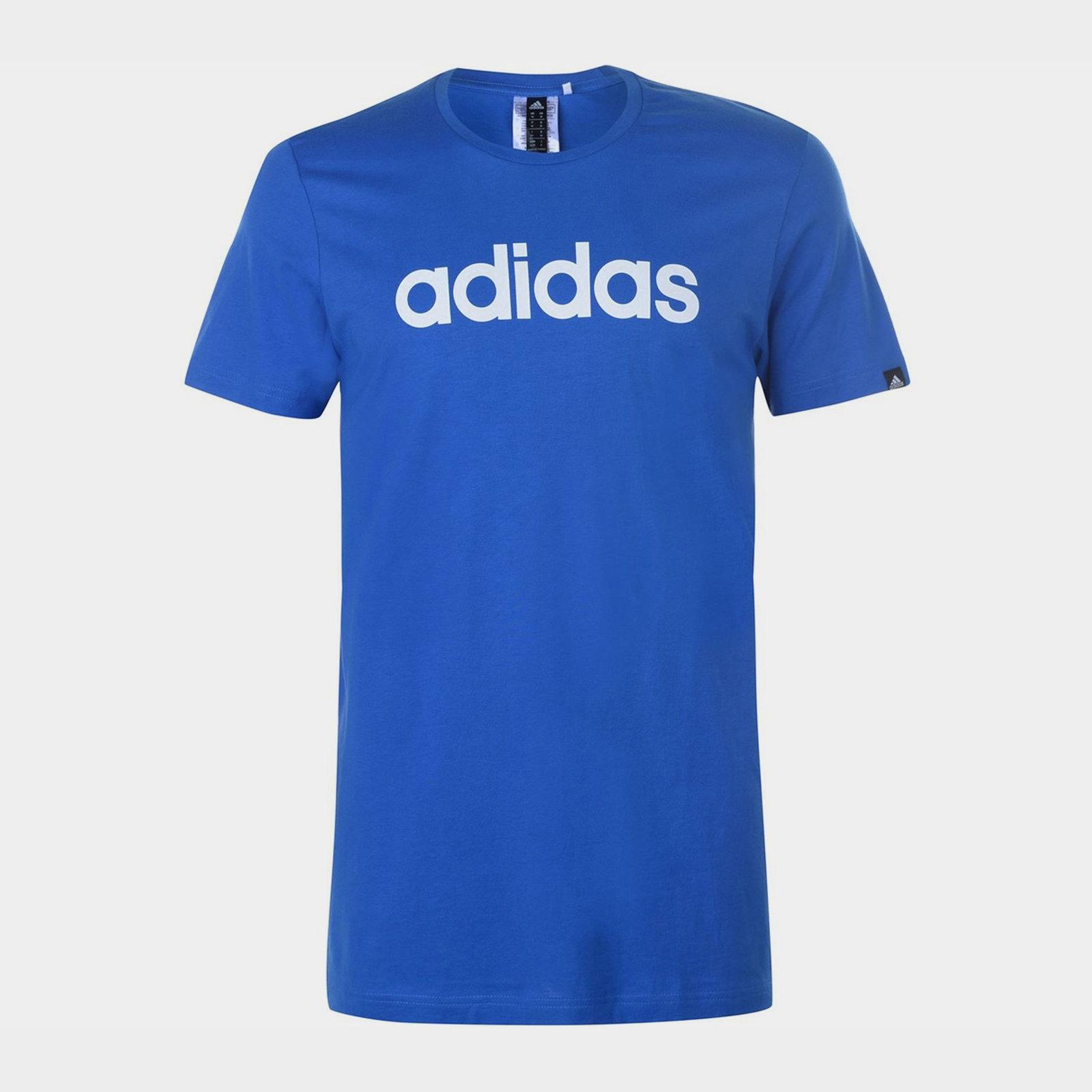 Mens Essentials Linear T Shirt