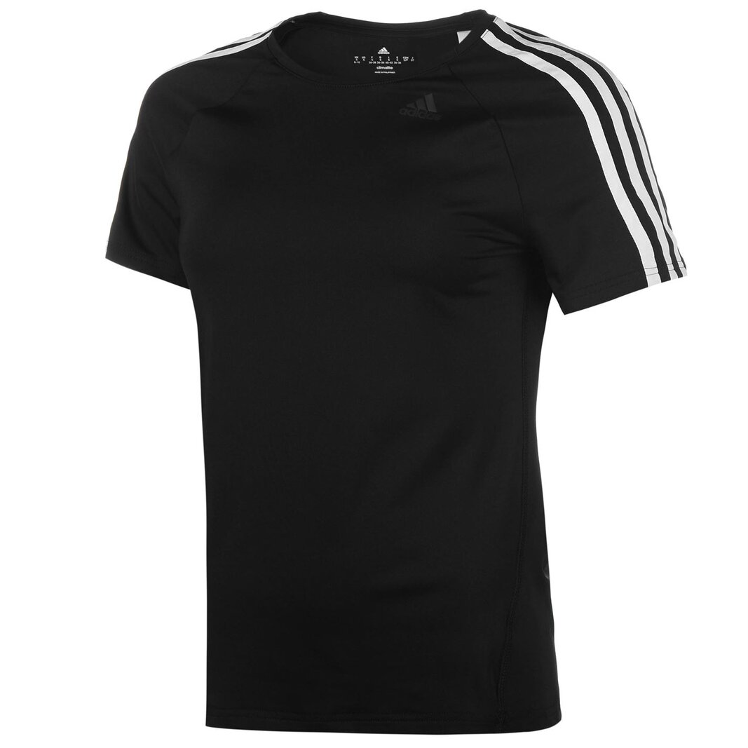 D2M 3 Stripe T Shirt Ladies