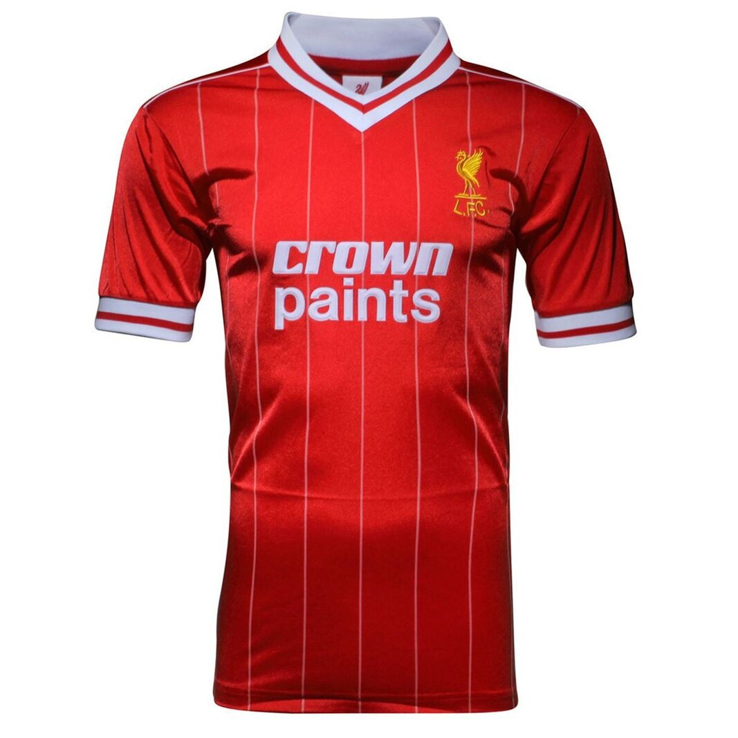 Liverpool 1982 Home Shirt Mens