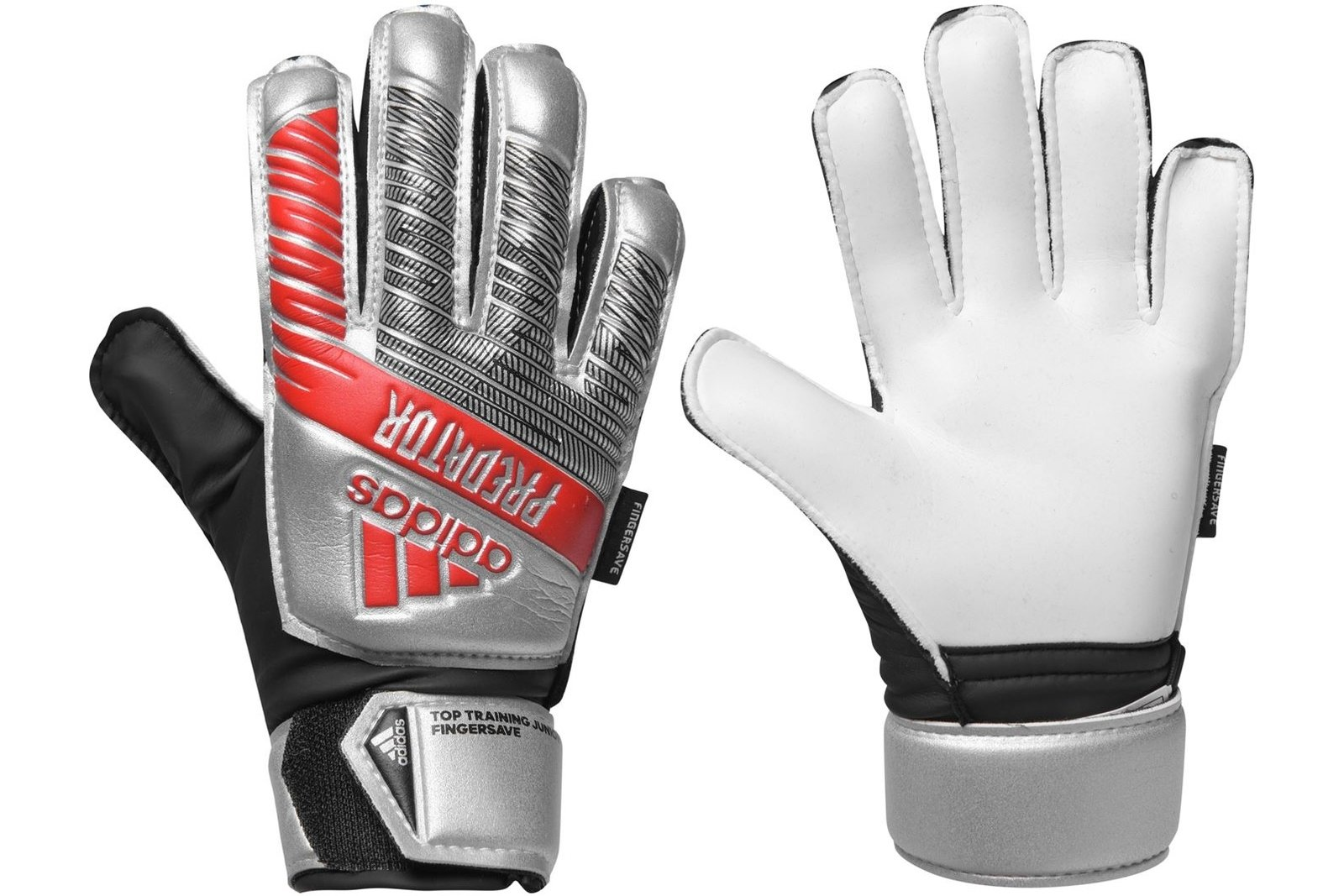 Predator Top Training Fingersave Goalkeeper Gloves Juniors