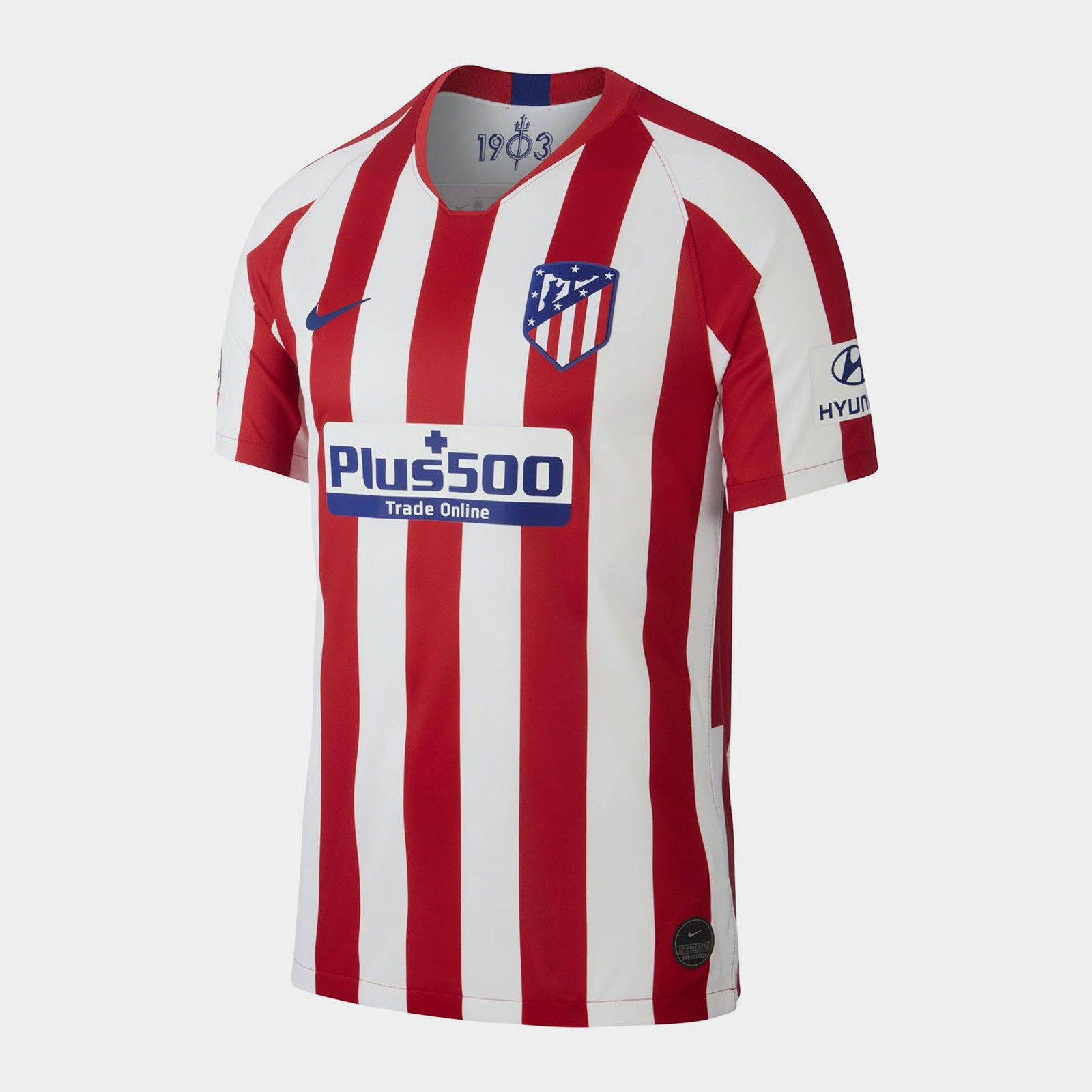 Atletico Madrid 19/20 Home short sleeve Football Shirt