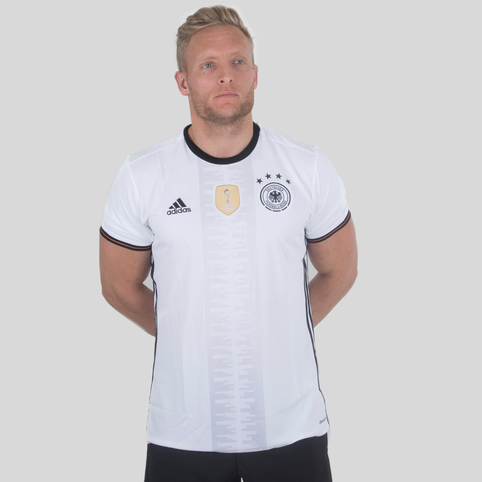 Germany 16/17 Home short sleeve Replica Football Shirt