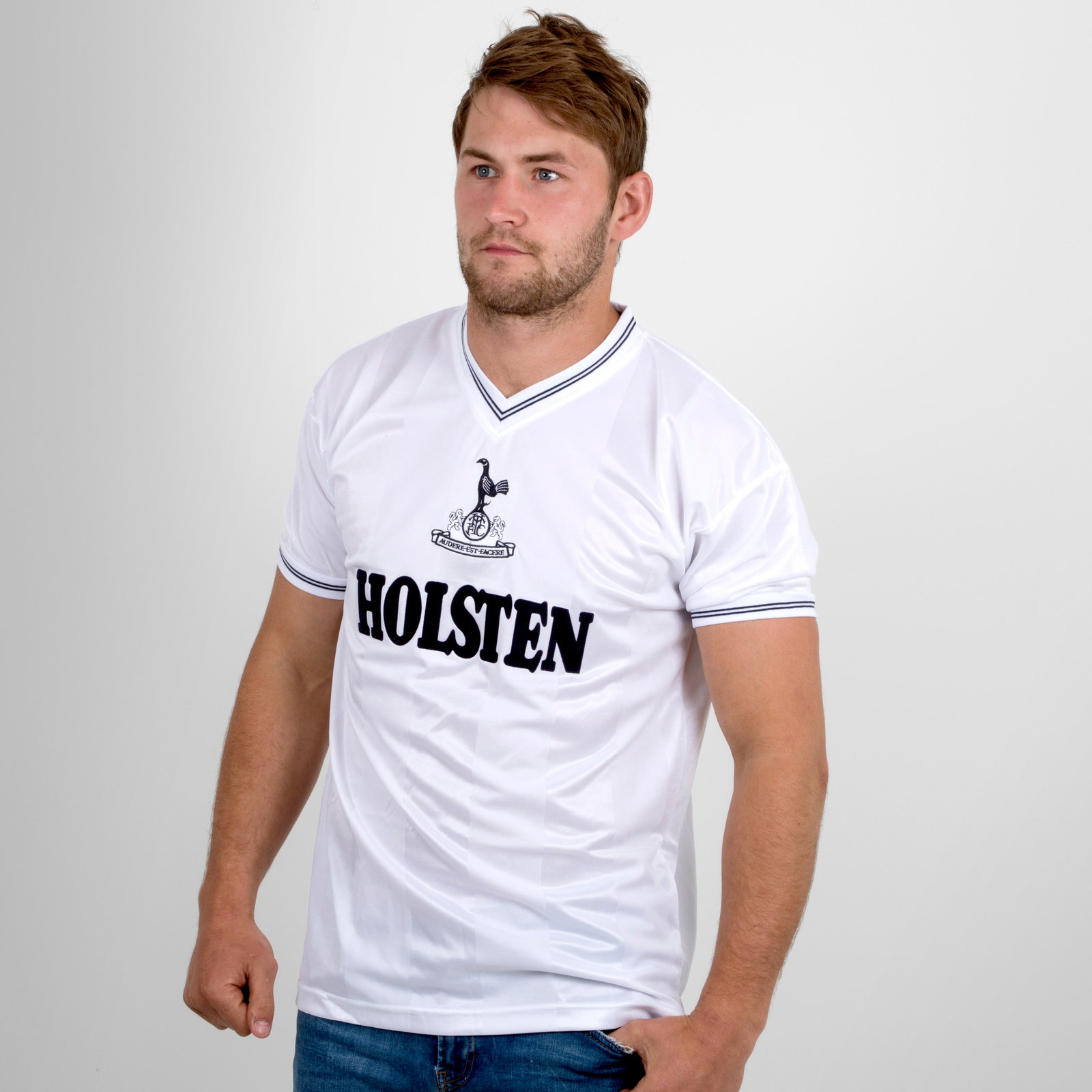 Tottenham Hotspur 1983 short sleeve Retro Football Shirt