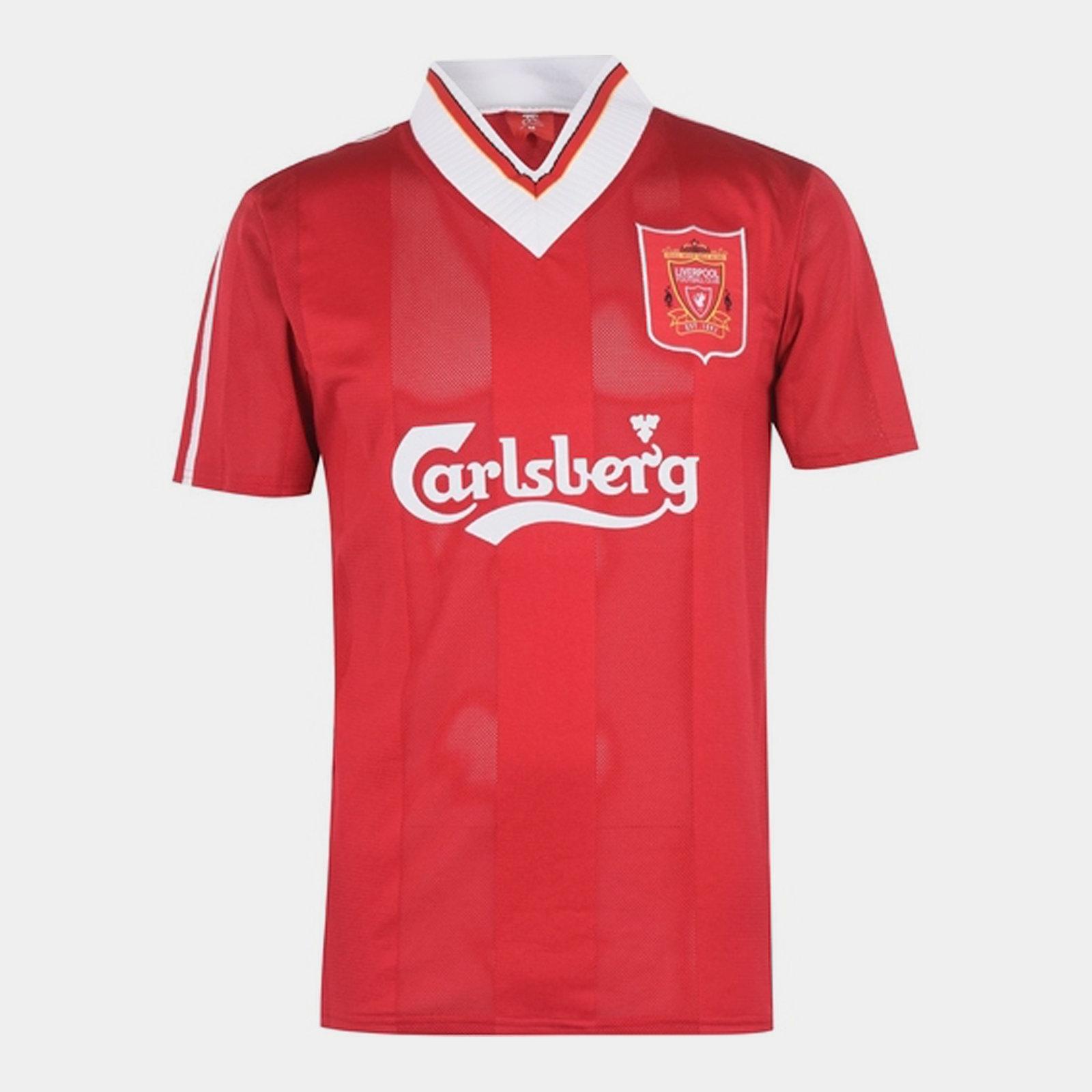 Liverpool 1995 1996 Home Shirt Mens