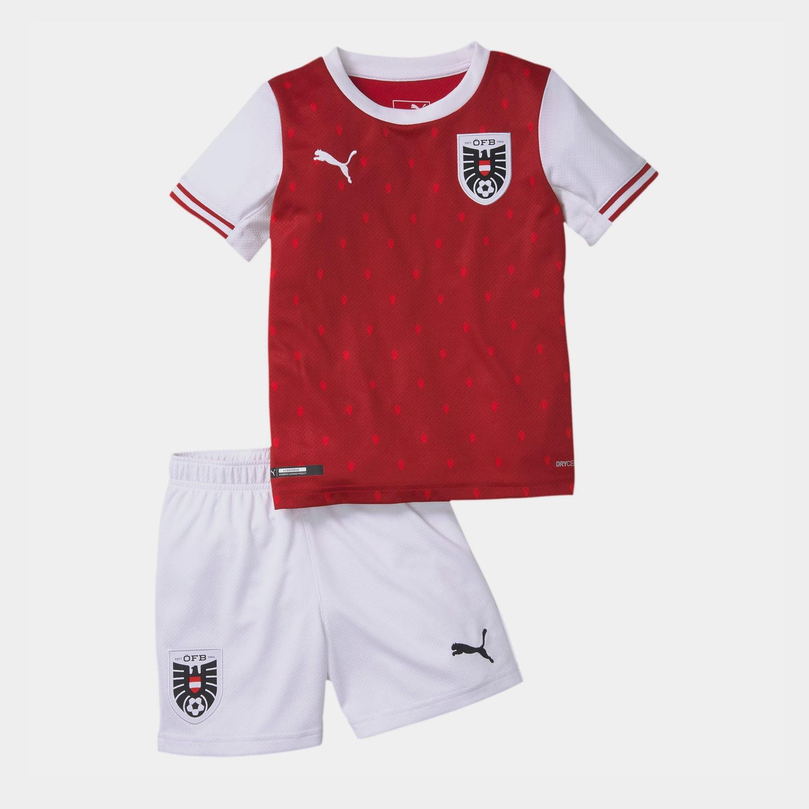 Austria 2020 Home Mini Kids Football Kit