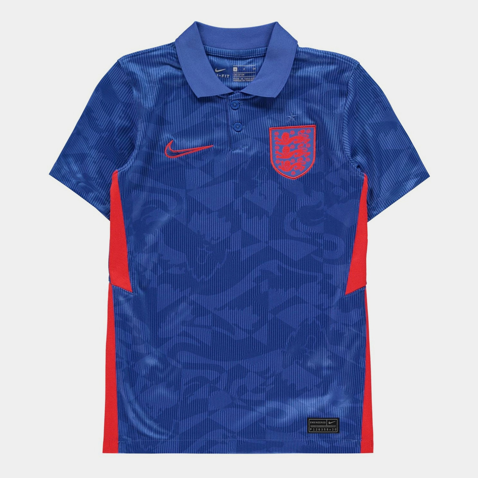 England 2020 Kids Away Football Shirt