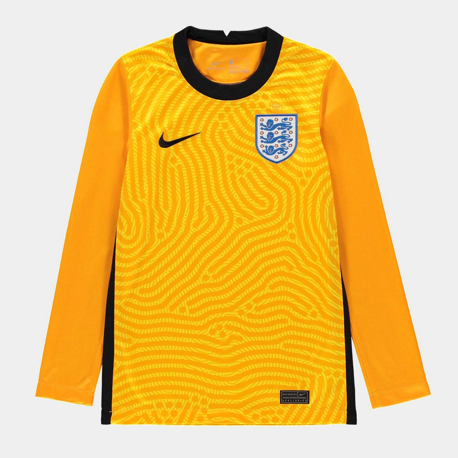 England 2020 Kids Home Goalkeeper Football Shirt