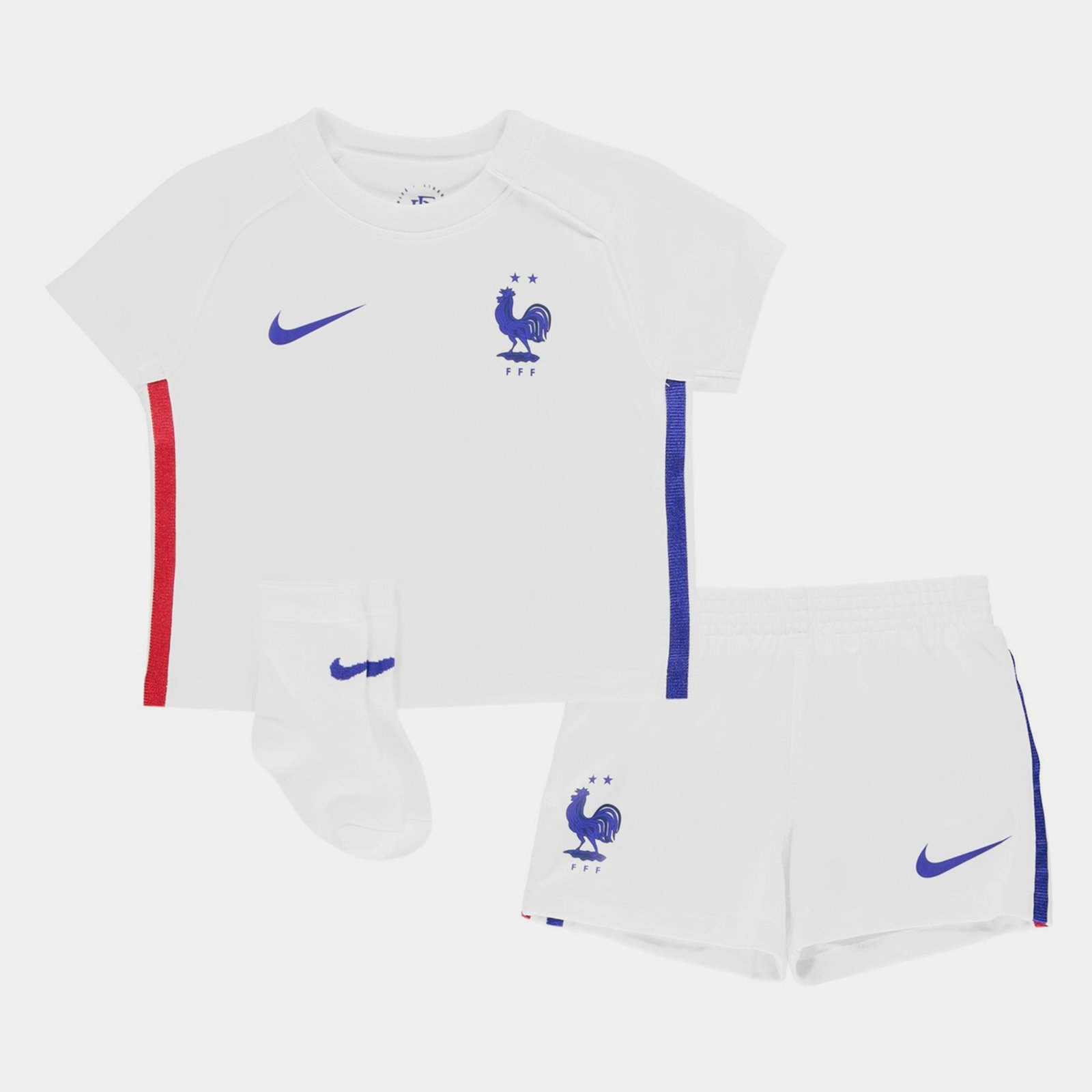 Image of France 2020 Away Football Baby Kit