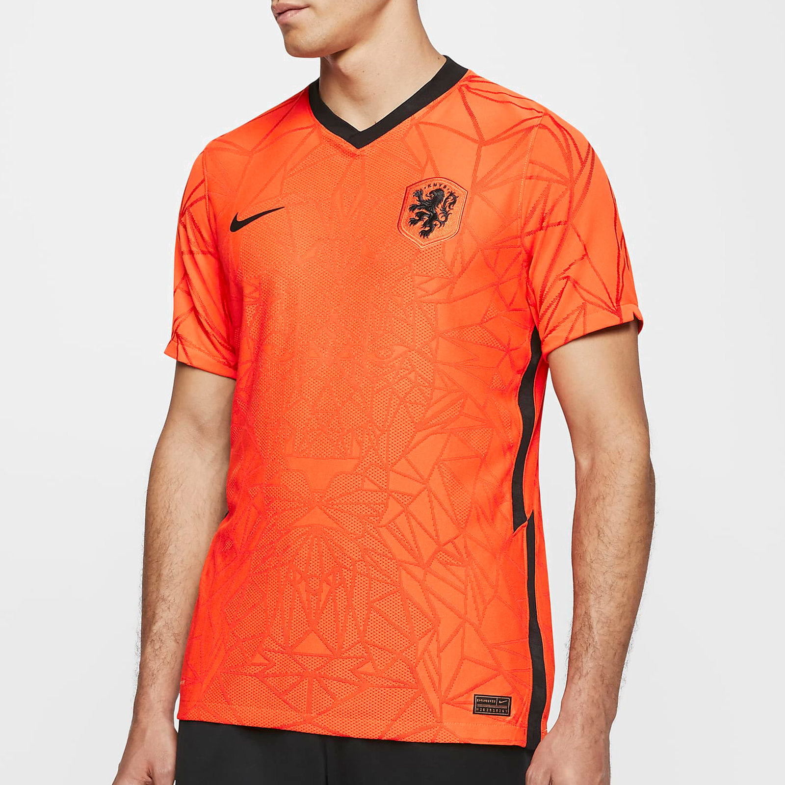 Holland 2020 Home Authentic Match Football Shirt